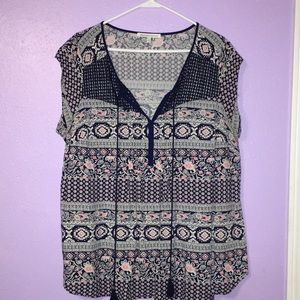 Cute Daniel Rainn Top ~ sz 1X